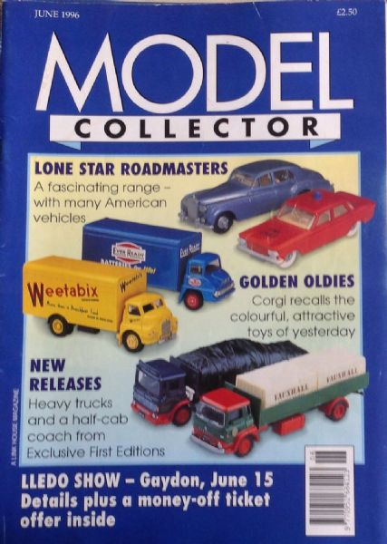ORIGINAL MODEL COLLECTOR MAGAZINE June 1996